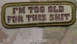 TOO OLD EMB MORALE PATCH - MULTICAM