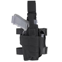 TORNADO TACTICAL LEG HOLSTER - BLACK