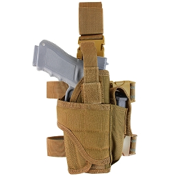 TORNADO TACTICAL LEG HOLSTER - COYOTE BROWN