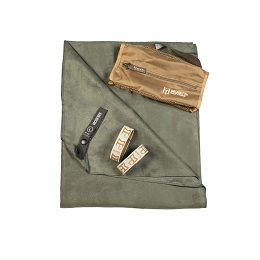 ULTRA COMPACT MICROFIBRE TOWEL - LARGE - OD GREEN 50