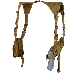 UNIVERSAL SHOULDER HOLSTER - COYOTE BROWN
