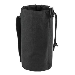 WATER BOTTLE / ACCESSORY POUCH - BLACK