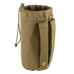WATER BOTTLE / ACCESSORY POUCH - TAN