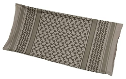 SHEMAGH MULTI WRAP - DUSTY BROWN