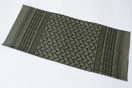 SHEMAGH MULTI WRAP - OD GREEN