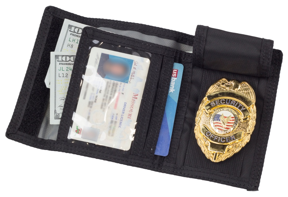 TRI-FOLD BADGE WALLET