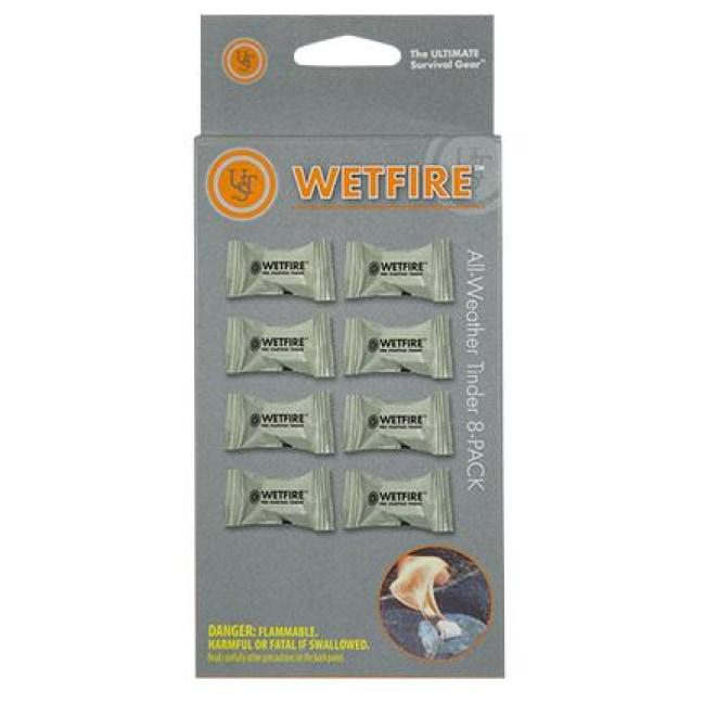WETFIRE ALL-WEATHER TINDER - 8 PACK