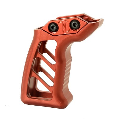 ENFORCER VERTICAL FOREGRIP - PICATINNY - RED