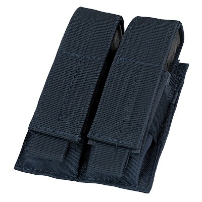 DOUBLE PISTOL MAG POUCH - NAVY BLUE